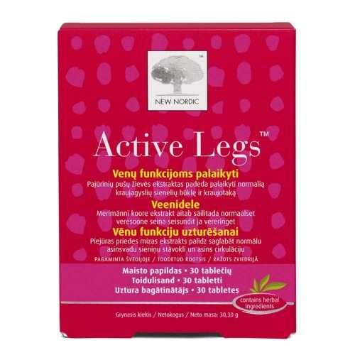 Средство для поддержания вен New Nordic Active Legs™ 30 таблеток (NN-1006)
