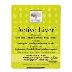 Средство для очистки печени New Nordic Active Liver™ 30 таблеток (NN-1007)