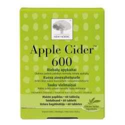 Для улучшения обмена веществ New Nordic Appel Cider™ 600 60 таблеток (NN-1008)