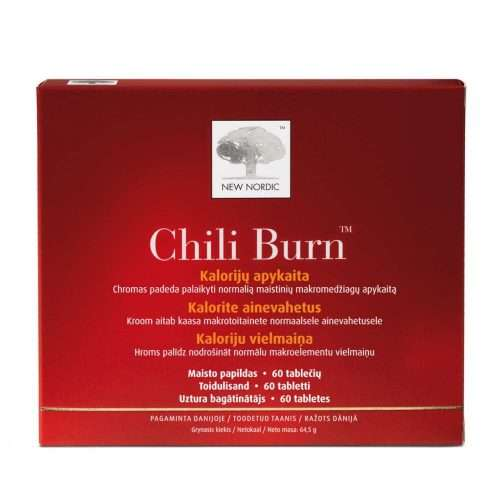 Средство для сжигания калорий New Nordic Chili Burn™ 60 таблеток (NN-1014)