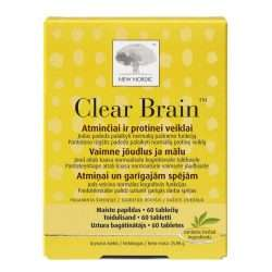 Средство для улучшения памяти New Nordic Clear Brain™ 60 таблеток (NN-1015)
