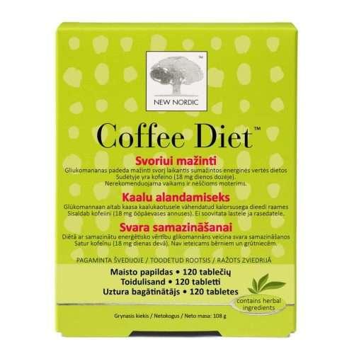 Средство для похудения New Nordic Coffee Diet™ 120 таблеток (NN-1016)