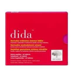 Для нормализации пищеварения New Nordic Dida™ 60 таблеток (NN-1019)