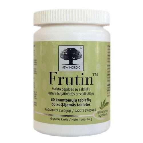 Средство от изжоги New Nordic Frutin™ 60 таблеток (NN-1025)