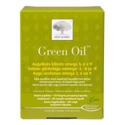 Набор омега-кислот New Nordic Green Oil™ 120 капсул (NN-1027)