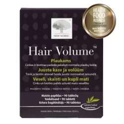 Комплекс для роста и объема волос New Nordic Hair Volume™ 90 таблеток (NN-90)