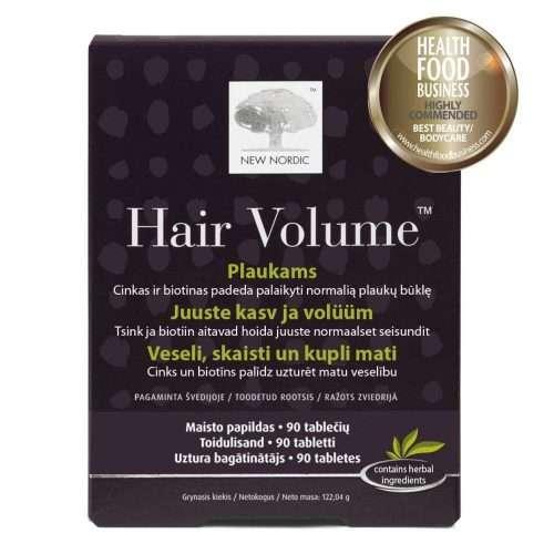 Комплекс для роста и объема волос New Nordic Hair Volume™ 90 таблеток (NN-90)