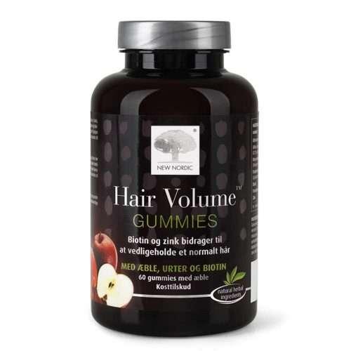 Для увеличения объема волос New Nordic Hair Volume™ GUMMIES 60 таблеток (NN-1030)