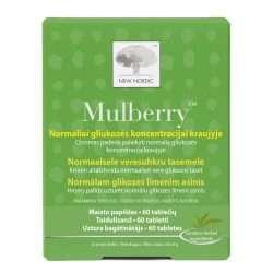 Для поддержания уровня глюкозы New Nordic Mulberry™ 60 таблеток (NN-1033)