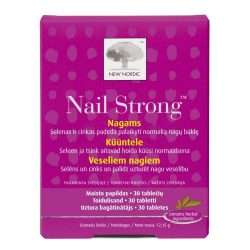 Для поддержания ногтей New Nordic Nail Strong™ 30 таблеток (NN-1034)