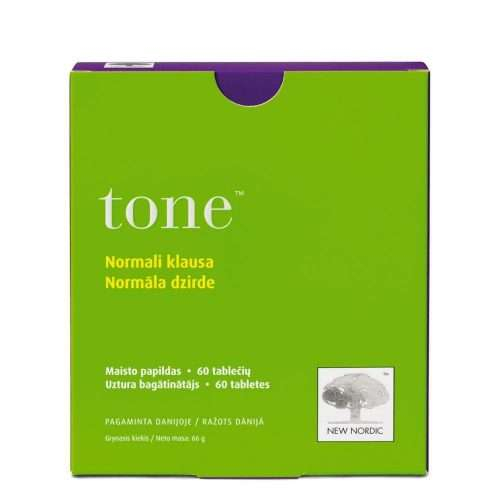 Средство для поддержания слуха New Nordic Tone™ 60 таблеток (NN-1040)