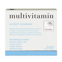 Витамины для женщин Multivitamin active women™, 90 таблеток