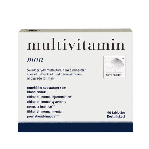 Витамины для мужчин Multivitamin for men™, 90 таблеток